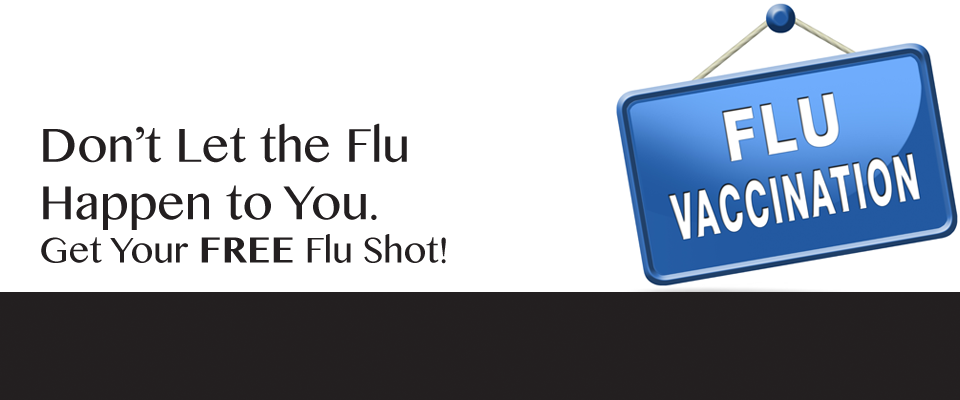 FREE Flu Shot Clinics This Month Across the District