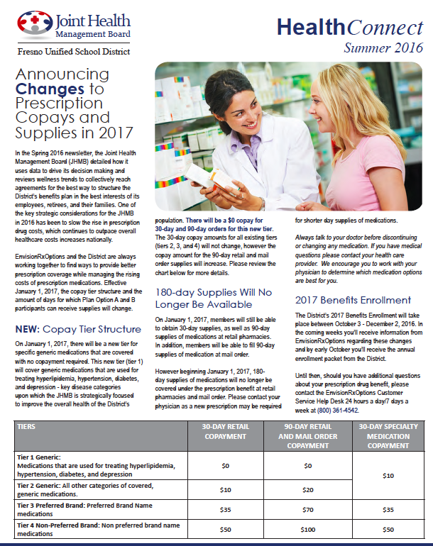 Download the Summer 2016 HealthConnect Newsletter